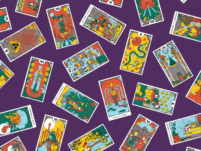 Minor Arcana Tarot Card