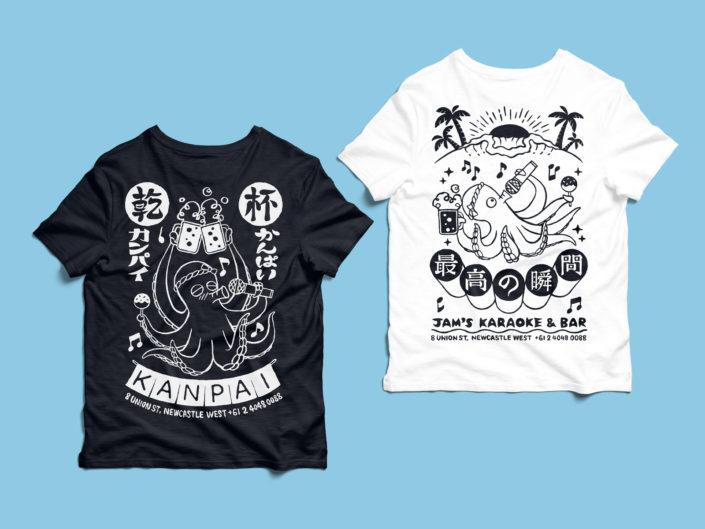 Jam's Karaoke & Bar Uniform Design